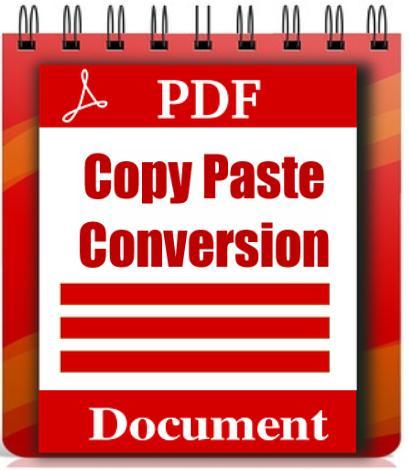 Copy Paste Conversion