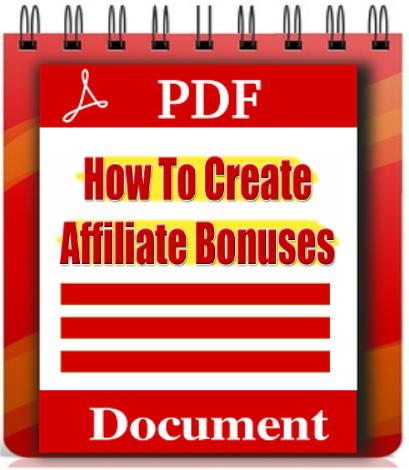 How to Create Affiliate Bonusses