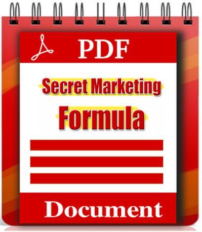 Secret Marketing Formula