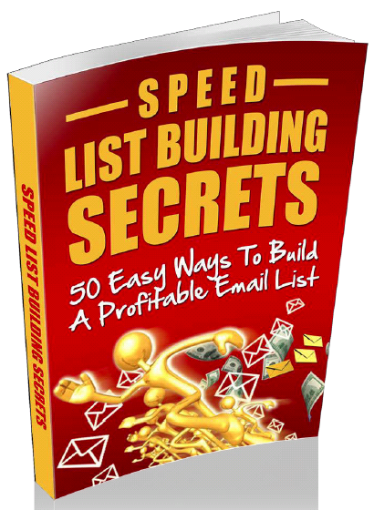 Speed List Building Secrets