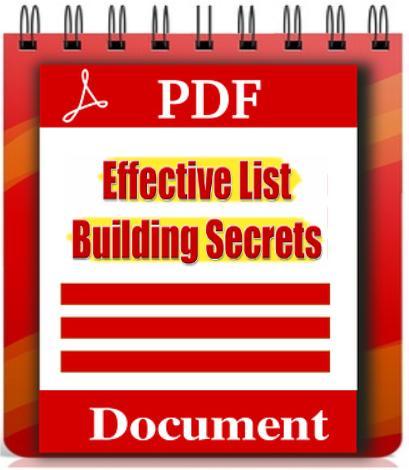 Effective List Building Secrets